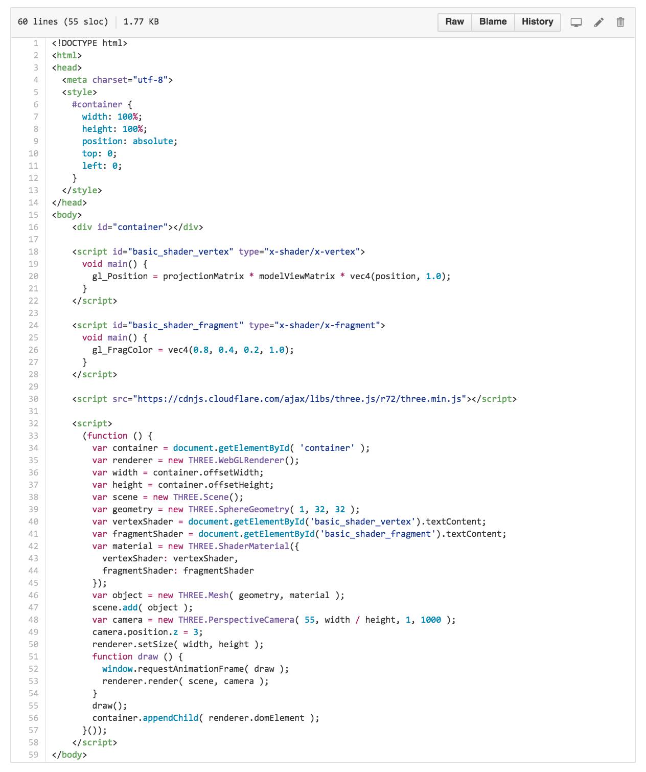 WebGL Workshop :: @Xavier_Ho